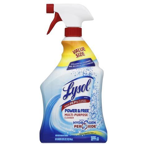 Shop LYSOL 32-oz Liquid Multipurpose Bathroom Cleaner at