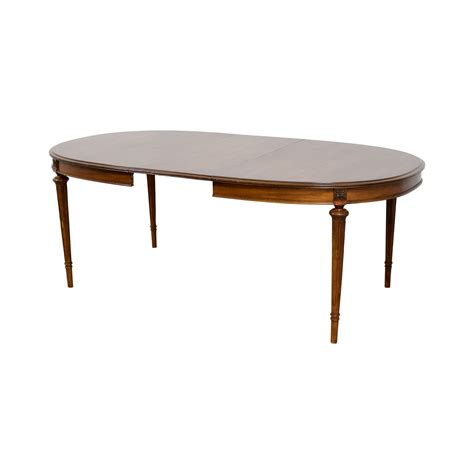 wood extendable oval dining table tables
