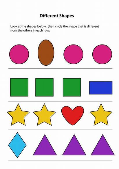 Same Different Worksheets Preschool Kindergarten Worksheet Toddler