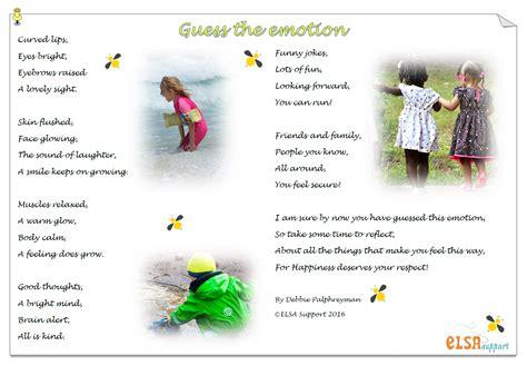 emotions poem elsa support