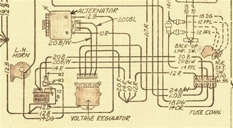 Corvette Horn Relay Location Wiring Diagram