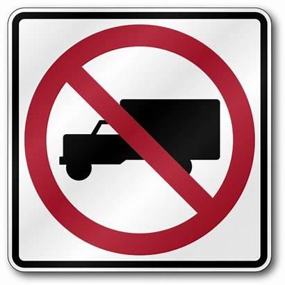Trucks R5 Sign Truck Parking Traffic Reflective