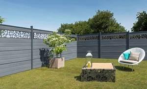 Claustra Beton Blanc : palissade claustra quelle cl ture prot ge mon jardin des voisins c t maison ~ Melissatoandfro.com Idées de Décoration