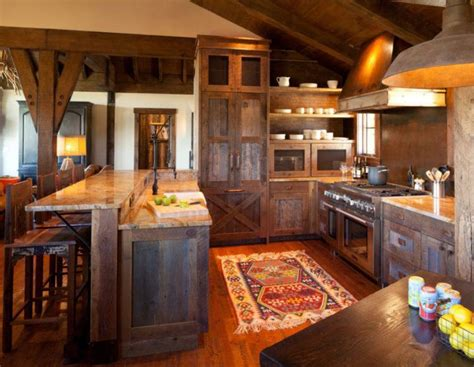 beautiful rustic kitchen cabinets housely