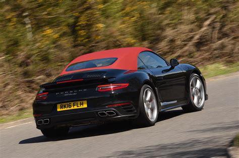2016 porsche 911 turbo cabriolet review review autocar