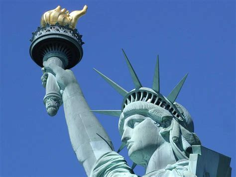 Statue Of Liberty A Symbol Of Freedom  Gets Ready
