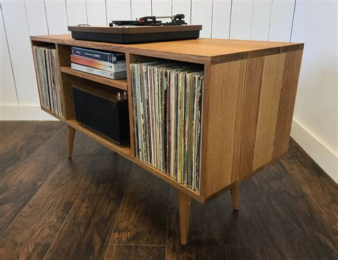 turntable cabinet mid century modern turntable stand record player cabinet