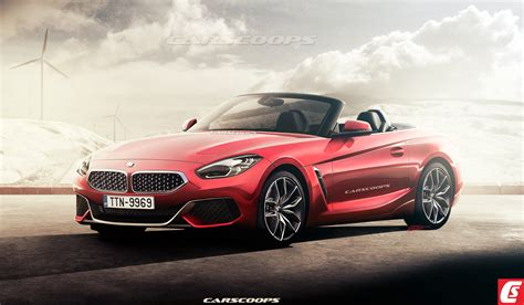future bmw future cars 2019 bmw z4 roadster flips its lid carscoops