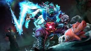 Heroes Dota 2 Storm Spirit Pig Hunting Lightning Ax Chain ...