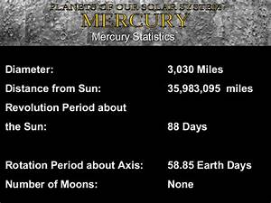 Mercury Planet Diameter in Miles (page 2) - Pics about space