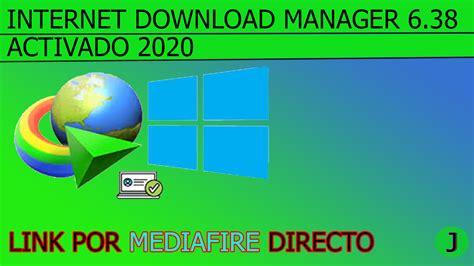 Internet download manager gratis 6.38 build download idm full version terbaru 6.38 build 18 gratis. Internet Download Manager 6.38 PRO Full En Español 2020(IDM)