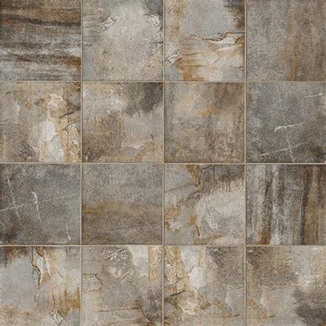 "Marazzi Vesale Stone Smoke 10"" x 20"" Glazed Porcelain Tile"