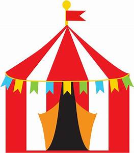 Circus clipart circus theme - Pencil and in color circus ...