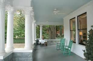 paint your porch ceiling haint blue
