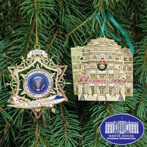 2006 secret service ornament gift set