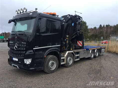 Mercedes Arocs by Mercedes Arocs 3751 Crane Trucks Year Of