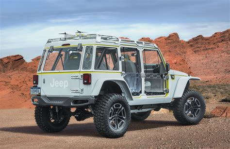 Jeep Reveal New Concept Vehicles