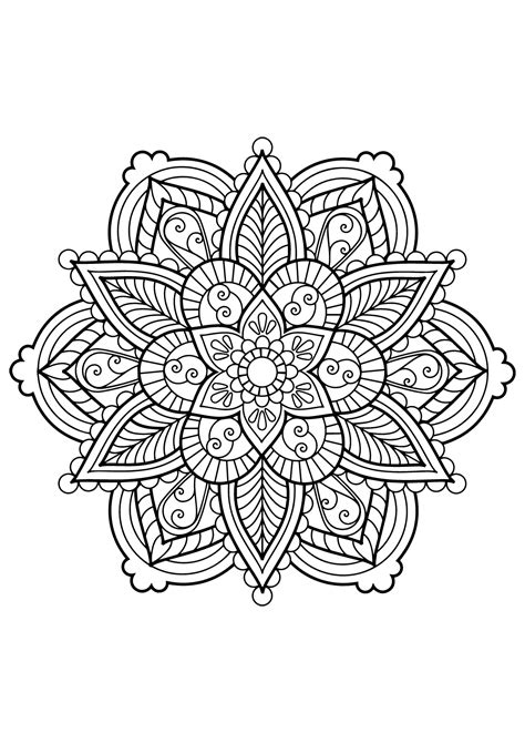 mandala   coloring books  adults  malas adult coloring pages
