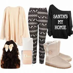 Cute Winter Outfits with Leggings and Uggs