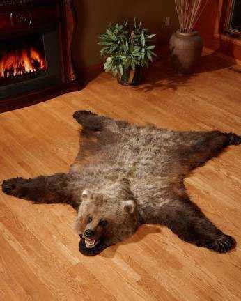 buffalo check blanket canada skin rugs polar grizzly buffalo hide