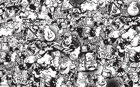 tlcharger fond d 39 ecran graffiti dessin noir et blanc