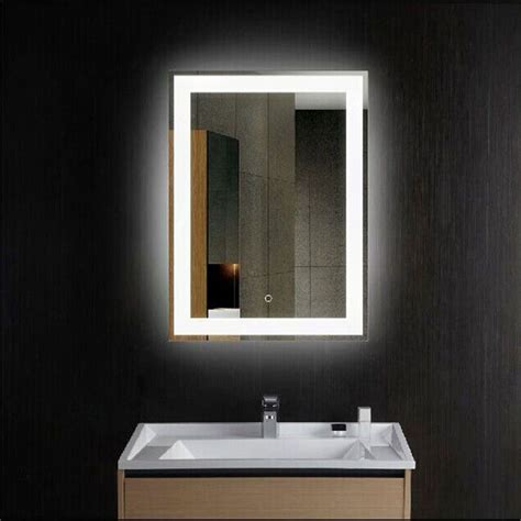 Lighted Mirrors Bathroom by Led Lights Wall Mounted Bathroom Lighted Mirror Vanity