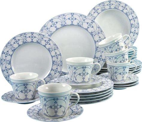 indisch blau porzellan creatable kombiservice porzellan 187 borkum indisch blau 171 30 teilig kaufen otto