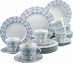 Porzellan Indisch Blau : creatable kombiservice porzellan borkum indisch blau 30 teilig online kaufen otto ~ Eleganceandgraceweddings.com Haus und Dekorationen
