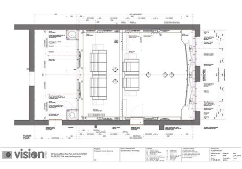 home theatre plans   theater plan home theater