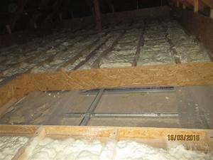 Zateplení podlahy půdy