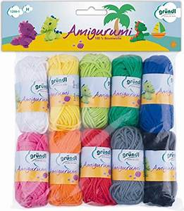Gründl Amigurumi Set I Lana, Cotone, Multicolore, 19 50x18 00x2 60 cm La bottega delle mille