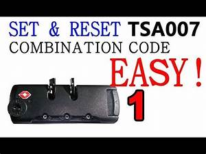 Tsa007 reset code