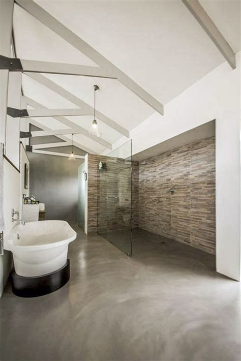 Modern Bathroom Finishes by Bathroom Trend Cemcrete Cement Finishes Visi