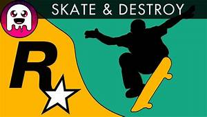 The Rockstar Skate Game is HARD! / Let's Play: Thrasher ...