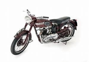 Triumph Motorcycles 5t Speed Twin Motorcycle  1951