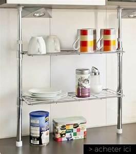 Plan De Travail Cuisine Avec Rangement : 23 objets gain de place pour optimiser l 39 espace d 39 une petite cuisine ~ Teatrodelosmanantiales.com Idées de Décoration