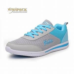 Free Shipping 2017 new ladies flat shoes, net breathable ...