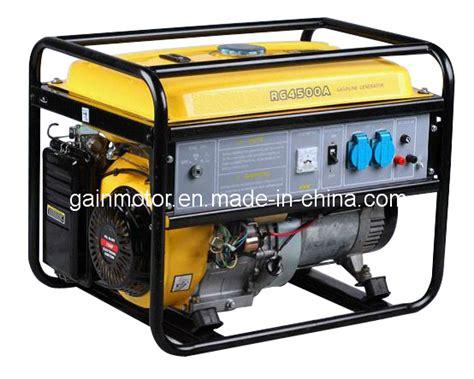Honda Type Portable Gasoline Generator (yfg-4500a(e