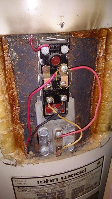 electrical   electric water heater wiring correct