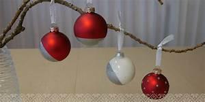 Weihnachtskugeln Selbst Gestalten : sch ne weihnachtskugeln selber basteln 5 einfache ~ Lizthompson.info Haus und Dekorationen