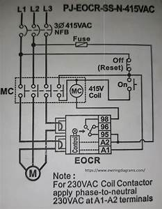 Wiring Diagram For Overload Relay