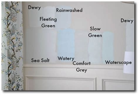 sherwin williams blue and gray color comparisons