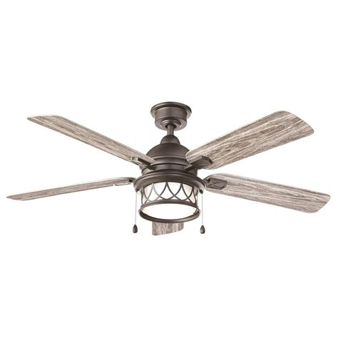 integrated led ceiling fan home decorators collection artshire 52 in integrated led