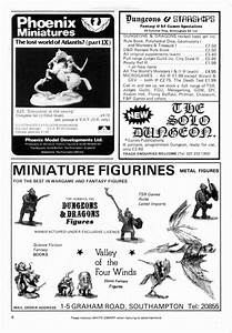 Classic Miniature Ads from White Dwarf Magazine Page One