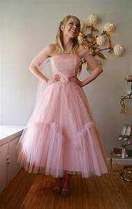 RESERVED//Vintage Prom Dress / 1950s Pretty in Pink Strapless