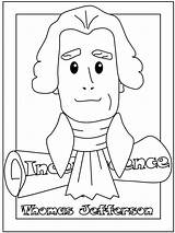 Presidents Coloring Pages President Sheets Jefferson Thomas Crafts Pintables Printable Washington George Template Worksheets Holidays Obama Fun Cancel Holiday Getcoloringpages sketch template