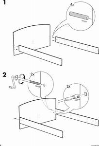 Ikea Ramberg Bed Frame Full Double Assembly Instruction