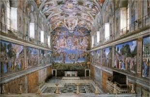 Peintre Qui A Peint La Chapelle Sixtine qu est ce que la chapelle sixtine un haut lieu