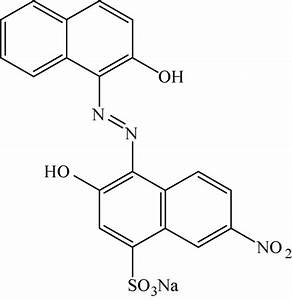 Chemical structure of Eriochrome black T. | Download ...