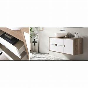 Pied Meuble Salle De Bain Suspendu : meuble de salle de bain baltic sur pieds with pied meuble salle de bain suspendu ~ Teatrodelosmanantiales.com Idées de Décoration
